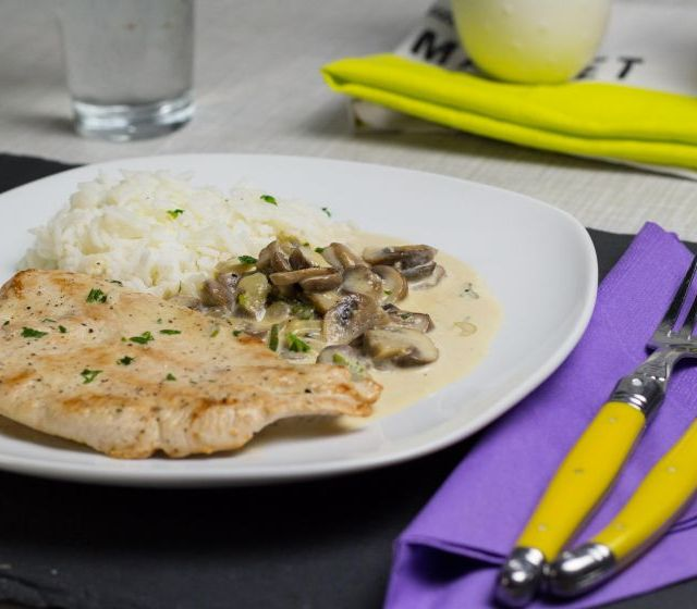 Champignonschnitzel