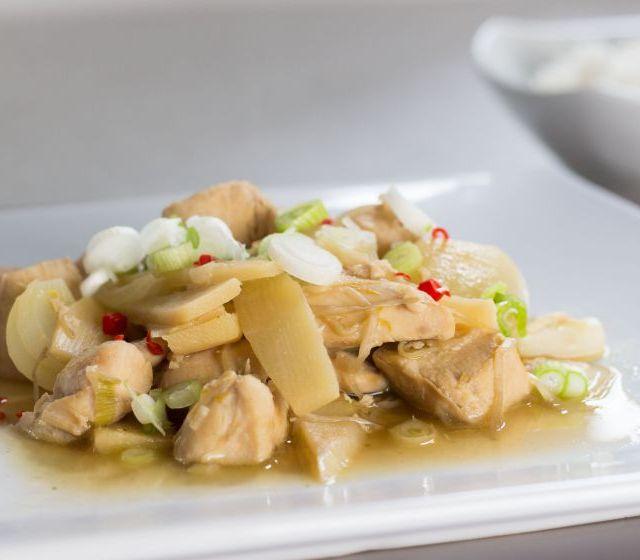 Hühner Chop Suey
