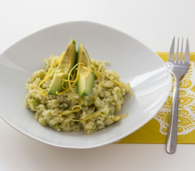 Avocado-Risotto