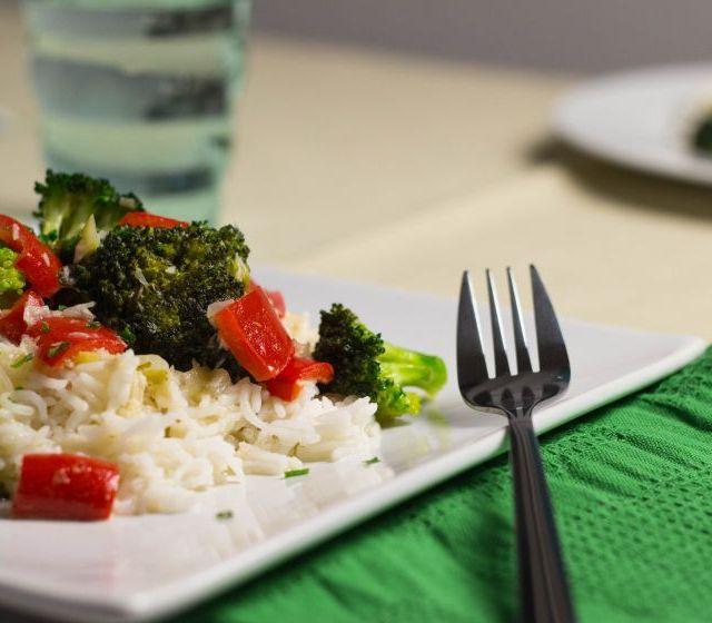 Brokkoli-Paprika-Pfanne